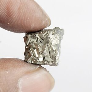 22.95 Ct. Natural Golden Pyrite Untreated Raw Rough Certified Loose Gemstone