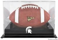 Michigan State Spartans Black Base Team Logo Football Case with Mirror Back
