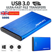 Portable USB3.0 SATA 500GB External Hard Drive Disk HDD 2.5''Fit For PC Windows