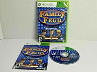 Family Feud 2012 Edition Microsoft Xbox 360 MINT DISC Complete CIB VERY FastShip