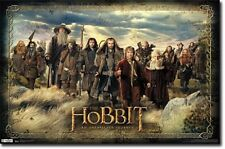 The Hobbit Movie Poster 34 x 22 NEW Trends International 5320 Lord of Rings LOTR