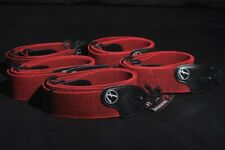 FENDER 2'' TWEED COTTON STYLE GUITAR STRAP RED/BLACK (5 PACK)