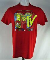 MTV Men's Red T-Shirt
