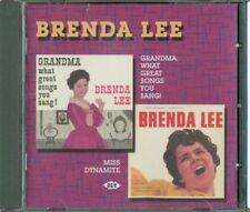 Brenda Lee - Grandma, What Great Songs You Sang! / Miss Dynamite Cd Perfetto