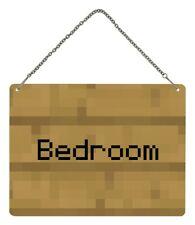 Bedroom Tin Sign 20x15cm