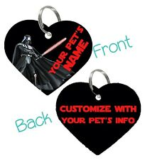 Darth Vader | Star Wars 2-Sided Pet Id Dog & Cat Tag Personalized For Your Pet
