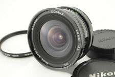 *Excellent* Cosina 20mm f/3.8 MC Wide Angle MF Lens for Nikon from Japan #5400