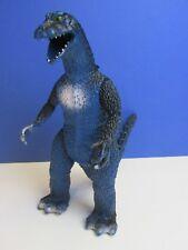 "VINTAGE rare GODZILLA blue monster 9"" ACTION FIGURE 1986 dinosaur lizard 30o"