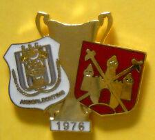 Badge Brooch Pin-ANDERLECHT-West Ham-Final Cup Winners 1976