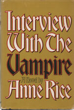 HORROR: INTERVIEW WITH THE VAMPIRE By ANNE RICE ~ HC/DJ 1976 BCE