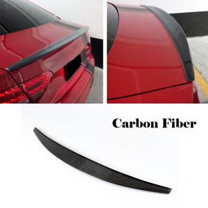 Spoiler für Audi A5 Coupe 08-15 Carbon Heckspoiler Abrisskante Lippe Heck Flügel