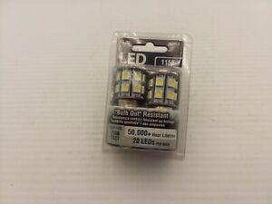 GROTE 1156 LED BULB WHITE 20 LEDS PER BULB 50,000+ HOUR LIFETIME NIB