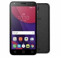 "Alcatel Pixi 4 5"" 5045X Smartphone Black 4G UNLOCK 8GB STORAGE 1GB RAM"