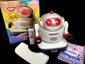 TOMY OMNIBOT JR ROBOT VINTAGE JAPAN Exclusive Edition CHARMMY