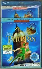Authentic Disney Peter Pan Blu-ray + DVD + Digital Code Signature Collection