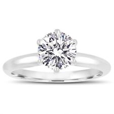 Internally Flawless D Color Diamond Solitaire Engagement Ring Platinum GIA Cert