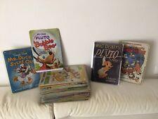 """De Agostini """"Disney Story"""" lot 45 targhe latta cortometraggi + fascicoli"""