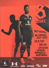 Autogrammkarte 2016/2017 Jeremy Dudziak FC St.Pauli AK 16/17 Org Hamburg BVB