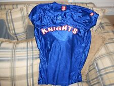 Charlotte Knights blue womens jersey #12 sz L-W