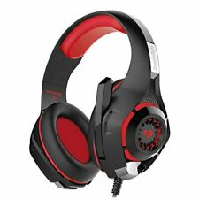 Cosmic Byte GS410 Headphones with Mic (Black/Red) free shipping