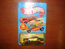 Vintage 1982 Hot Wheels Sheriff Patrol Police Car Unpunched Mattel 9526 Blue