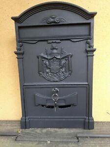 Large wall mounted letter box