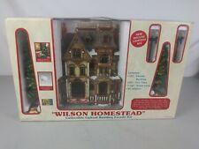 Lemax Wilson Homestead Lighted house Fibre Optics Christmas Village Facade