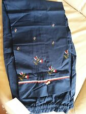 Sapphire trousers, Blue, Cotton - Size Large