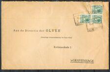 3X 5 CT.VETH, BLOKST. ALKMAAR S.S. 11 JAN 1934 OP ENV. - 'S GRAVENHAGE,AZ. Ac898
