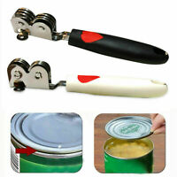 Safe Easy Use Stainless Steel Can Tin Opener Side Cut Handy Manual Can Openers