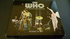 THE WHO LIVE AT THE ISLE OF WIGHT 1970 2 CD SET WITH POSTER FREE POSTAGE
