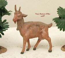 "FONTANINI DEPOSE ITALY 7.5""SERIES STANDG GOAT NATIVITY VILLAGE ANIMAL FIGURE NEW"