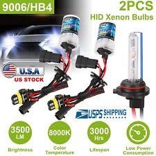 2 pcs Car Xenon Super Vision HID 9006 8000K 35W Headlight Lamp Replacement Light