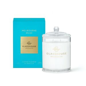 Melbourne Muse - Coffee Flower & Vanilla  Candle 380G ***3 PACK*** | Glasshouse