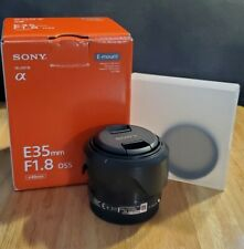 Sony SEL 35mm f/1.8 OSS Lens AND ND FILTER