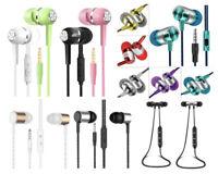 ✅ In Ear Kopfhörer Ohrhörer Stereo Headset Earbuds Bluetooth Player 3,5mm Klinke
