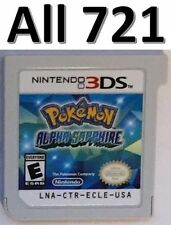 Pokemon Alpha Sapphire Unlocked All 721 2DS 3DS XL Battle Ready Competitive EV