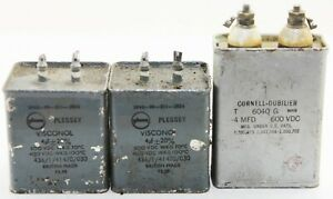 3 off 4uF capacitors as shown (GC7)