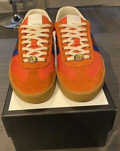 Gucci G74 Leather Sneaker Low US 11 (Gucci Size 10) Original Box