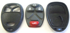 keyless remote key fob car starter Chevy new replacement 4 button pad case shell