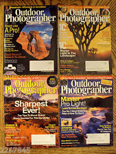 Outdoor Photographer Magazine Back Issue LOT 2004 Pro Digital Photoghraphy Tips