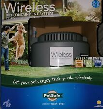 New listing PetSafe Official Pif-300 Dog Fence Wireless Outdoor Containment System Open Box