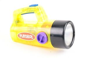 Playskool - Color Glow Flashlight - Clear Translucent Yellow / Hard to Find