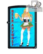 Zippo 218 Beer Anyone Woman Lighter with PIPE INSERT PL
