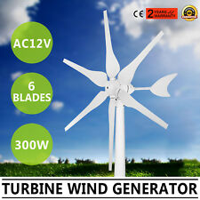 TURBINE WIND GENERATOR 300W AC12V HYACINTH DRIVEN VOLT OPTION MOVE MUTELY GREAT