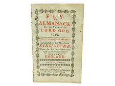 Fly an ALMANACK for the Year 1749 with a Prognostication