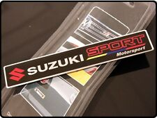 SUZUKI sport badge emblème autocollant Swift SZ SZ3 SZ4 Grand Vitara SX4 Jimny (22)