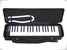 Woodnote MLK-37BK Beautiful Black 37 Key Melodica with Carrying Case