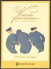 Oliverio Girondo Book Veinte Poemas Replica 2011