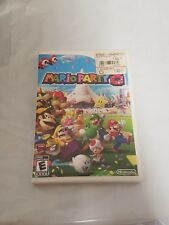 MARIO PARTY 8 - Nintendo Wii - CASE AND MANUAL ONLY *NO GAME* SHIPS FREE